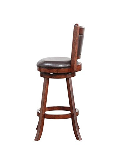 Boraam 06729 Rhea Bar Height Swivel Stool 29 Inch