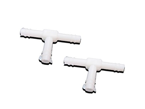 Washer T-connector - SCM Windshield Washer T-Connector For Universal Car 5mm (1/4