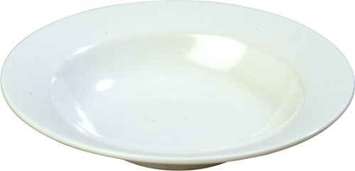 - Carlisle  (KL12302) 8 oz Melamine Kingline Wide Rimmed Salad Bowl [Set of 48]
