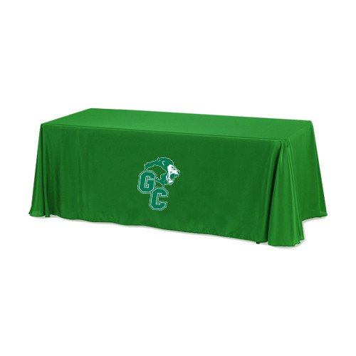 Greensboro Kelly 6 foot Table Throw 'Official Logo' by CollegeFanGear