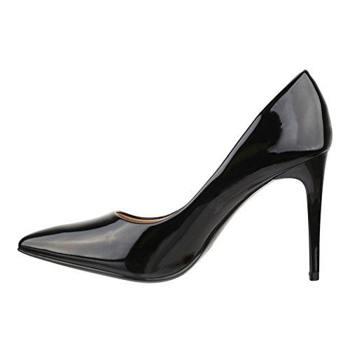 Elara Femme Noir Coupe Coupe Fermées Elara Elara Femme Fermées Noir Coupe rBwgpqr