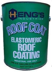 Hengs Industries 471284 Elastometric Roof Coating - 1 Gallon