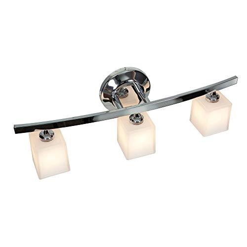 Access Lighting 63813-18-CH/OPL Sydney - Three Light Bath Vanity, Chrome Finish with Opal Glass