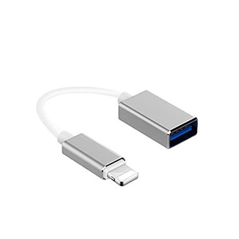 f69ddf32b30 meloaudio Adattatore 8 Pin a USB Cavo OTG per iPhone iPad iOS 11 Piano  Microfono Interfaccia