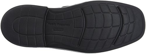 Hush Puppies Platon, Mocassini Uomo Nero (Noir 8)