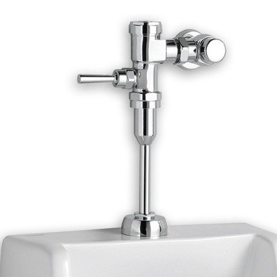 - American Standard 6590.501.020 Washbrook Top Spud Urinal with 0.5 Gpf Manual Flush Valve