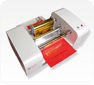 Boshi Electronic Instrument TJ-256 220V/110V Digital Hot Foil Stamping Machine Gilding Flatbed Printer Press Machine With 100m/h Speed