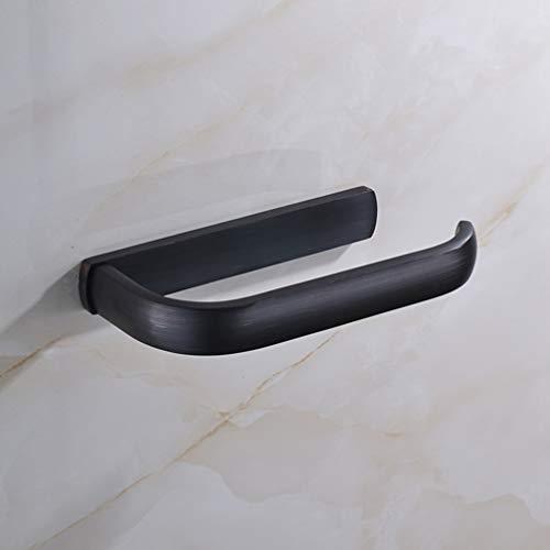 LUDSUY Finish Blackened Bathroom Toilet Tissue Bar Paper Holders Wall MountedBathroom accessories ()