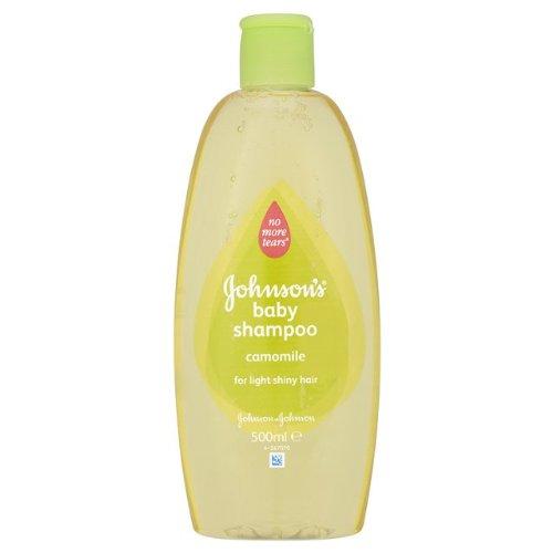 Shampoing pour bébé Johnson No More Tears avec Camomille pour Light Brillant Cheveux 16,9 0z / 500 Ml (Pack de 2)