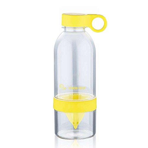 Botella con exprimidor 600 ml (zumo de botella con soporte ...