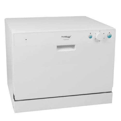 Koldfront PDW60EW 6 Place Setting Countertop Dishwasher - White by Koldfront