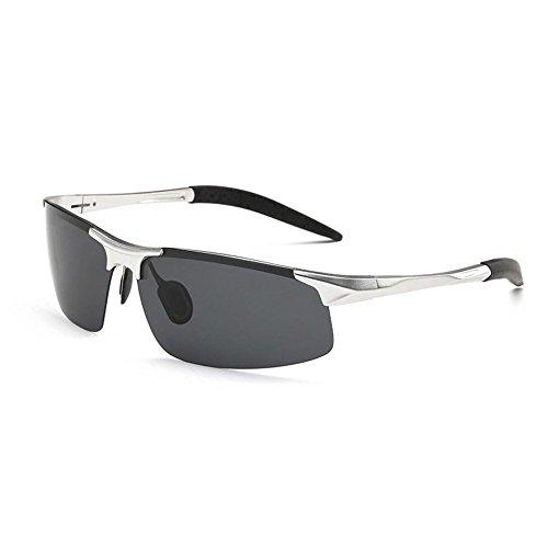 Marco Hombres UV400 de Conduciendo de YANKAN de H de Moda Metal Hombres Gafas Sol Polarizadas PgRxwX