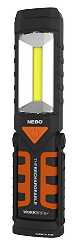 NEBO Workbrite 2 Rechargeable LED Work Light (Set of 2)