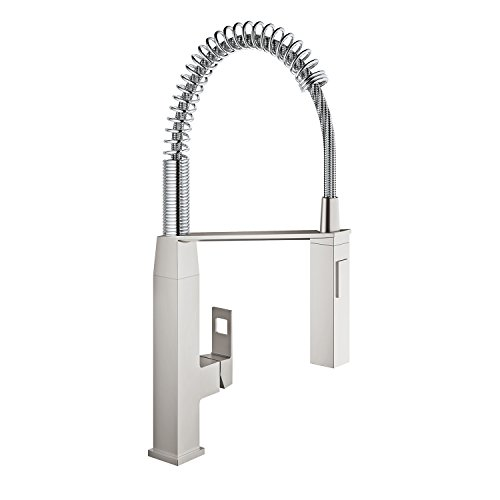 grohe single handle pull out spray head kitchen faucet amazon grohe kitchen faucets amazon grohe kitchen