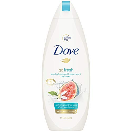 Dove Go Fresh Restore Body Wash, 22 oz (Pack of 2)