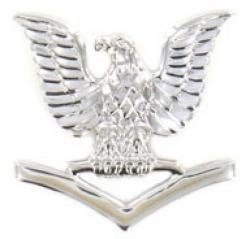 Navy E-4 Collar Device Rank Insignia ()
