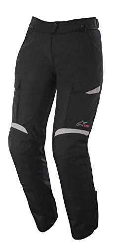 Alpinestars Stella Bogota Drystar Womens Pants, Gender: Mens/Unisex, Primary Color: Black, Size: XL, Distinct Name: Black/Gray (Women Street Bike Apparel)