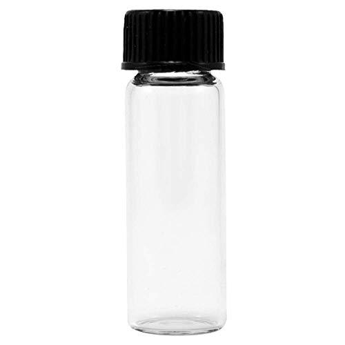 Glass Vials, 1 Dram, Pack of 12