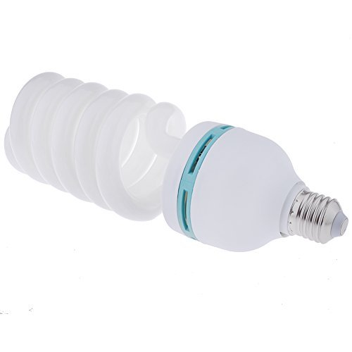 30w Lamp (Neewer® Tri-Color 30W 5500K Spiral Fluorescent CFL Daylight Balanced Light Bulb Lamp in E27 Socket for Photography and Video)
