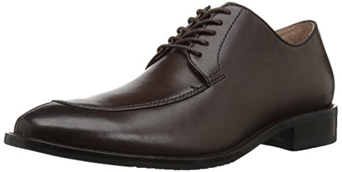 206 Collective Men's Harrison Dress-Split-Toe Oxford, Chocolate Brown Leather, 9.5 D US