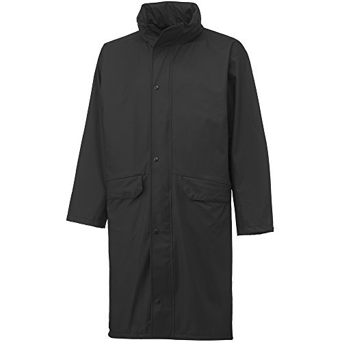 Helly Hansen 70186 Voss Rain Coat Long, black, 34-070186-990-M by Helly Hansen Workwear