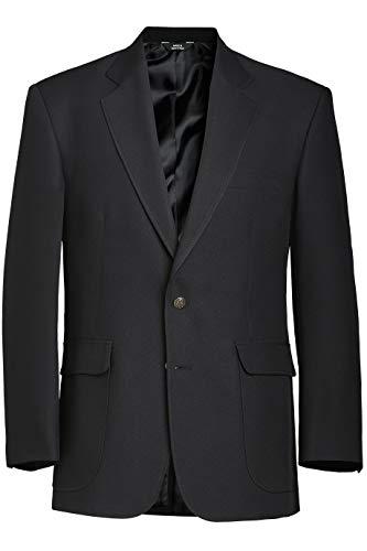 Edwards Men's Single-Breasted Blazer 56 Regular Black