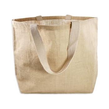 Amazon.com: Large Eco-Friendly Jute Bag Burlap Beach Totes ...