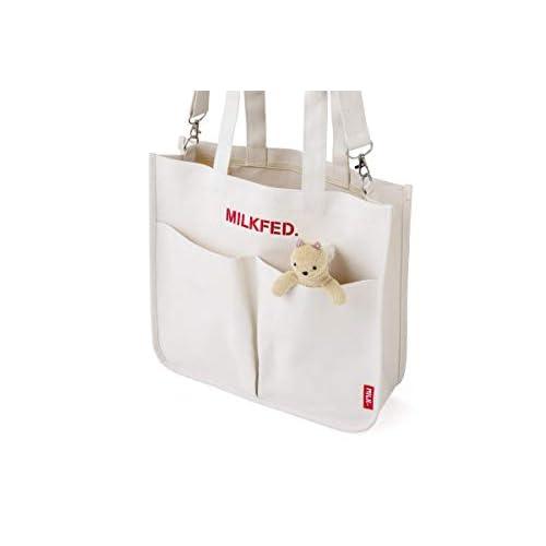 MILKFED. SPECIAL BOOK 5-Pocket Big Bag WHITE 付録