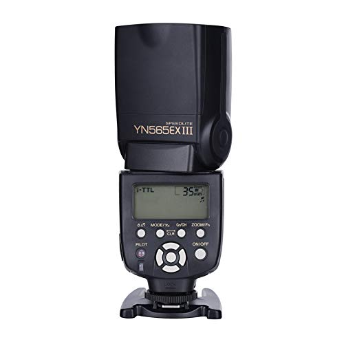 YONGNUO YN565EX III E-TTL Camera Flash Speedlite for Nikon Camera in Wireless Slave TTL Mode, Digital ITTL Mode, Manual and Multi Mode
