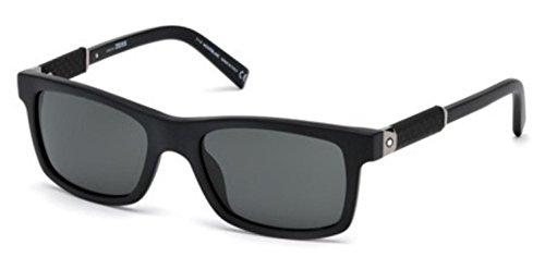 Sunglasses Montblanc MB 646 S MB 646 S 02A matte black / - Sunglasses Mens Mont Blanc