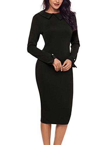 Kleid schwarz elegant