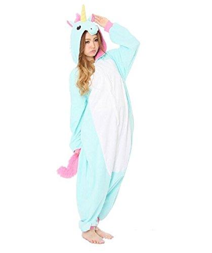 Mcdslrgo Pijama enterizo unisex de cálido forro polar, diseño de unicornio: Amazon.es: Ropa y accesorios