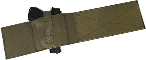 Daltech Force SafestCarry Boot Wrap Ankle Gun Holster - CCW Concealed Carry Gun Holster for Over The Boot Military Olive Tan ()
