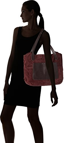 A Donna Spalla Cm Combi 14x33x44 Borsa burgundy 26130074 Clarks Viola wIAEI