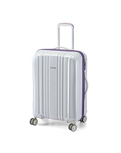 28' Spinner (Hard Shell Luggage, On 360 Spinner Wheels,White 28'')