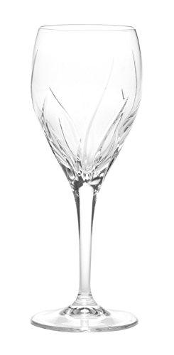 Mikasa Agena Crystal Wine Glass, 9-Ounce ()
