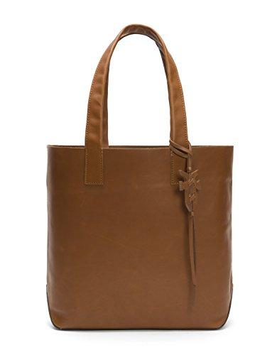 FRYE Carson Leather Tote Bag, cognac -  34DB571-COG