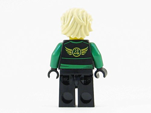 LEGO Ninjago Skybound Lloyd Green Ninja with Armor + Hair Minifigure Sky Pirate