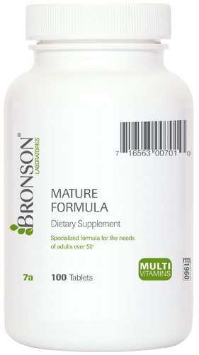 Bronson Labs Formula Multi vitamin Tablets