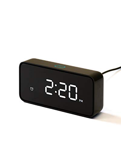 ZMI Reason ONE Smart Alarm Clock with Alexa Built-in for Smart Home - Note: Requires App Download to Work