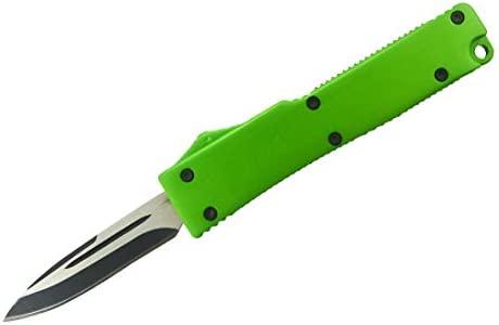 Mini llavero cuchillo de fuego verde: Amazon.es: Bricolaje y ...
