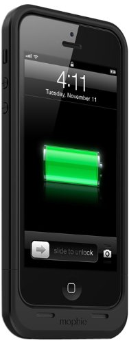 (mophie juice pack Air for iPhone 5/5s/5se (1,700mAh) - Black)