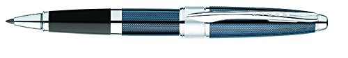 America Pen Knife - Cross Apogee Rolling Ball Pen - Frosty Steel