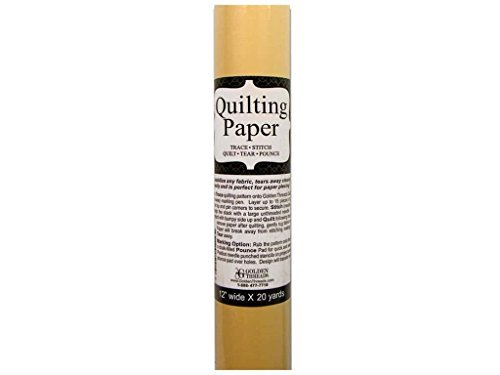 Golden Threads Quilting Paper 20ydx12