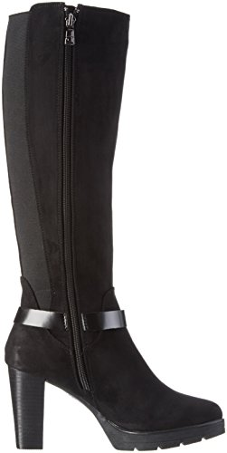 TOM TAILOR 1690805 - Botas de caña alta sin forro Mujer Negro
