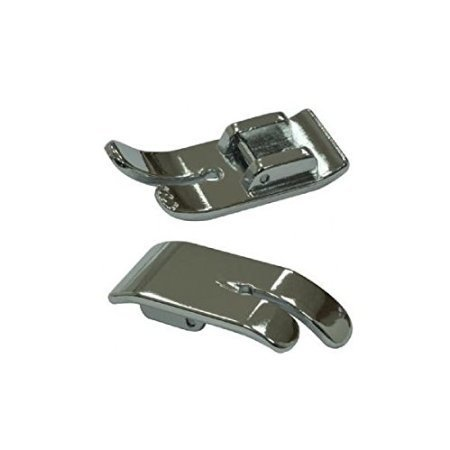 Straight Stitch Sewing Machine Presser Foot, CENTER Needle Position - Fits most machines that use snap-on accessories such as Singer*, Brother, Babylock, Viking (Husky Series), Euro-pro, Janome, Kenmore, White, Juki, Bernina (Bernette Series), New Home, Necchi, Elna and - Euro Pro Sewing