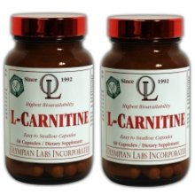 Olympian Labs L Carnitine Twinpack