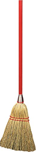 Carlisle 368100 Commercial Corn Lobby Broom, (100% Corn Broom)