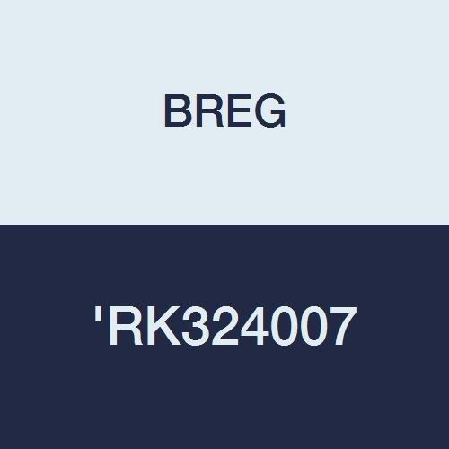 Front Closure BISS /'RK324007 BREG RK324007 Crossover Brace Standard 3D Neoprene Inventory Management Services