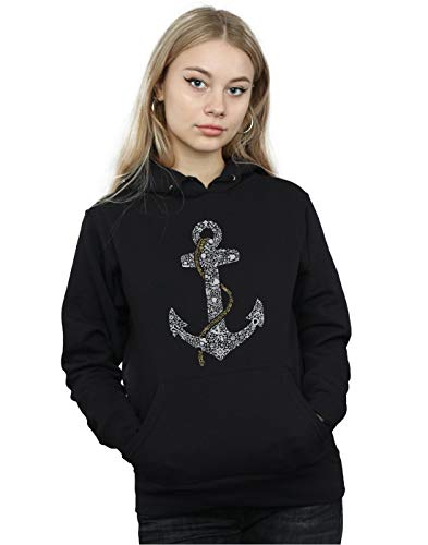 Pirate Drewbacca Mujer Cult Negro Absolute Anchor Capucha qw8td5E5